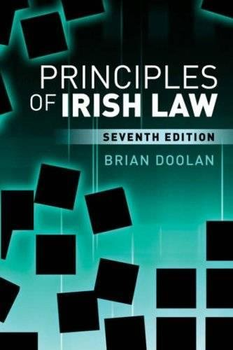 9780717142071: Principles of Irish Law