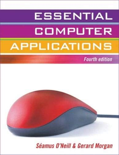 9780717142644: Essential Computer Applications