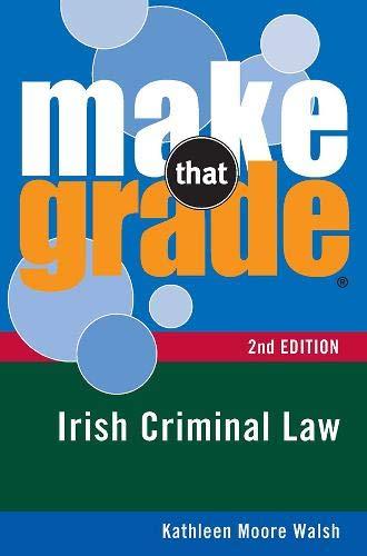 9780717145584: Make That Grade Irish Criminal Law