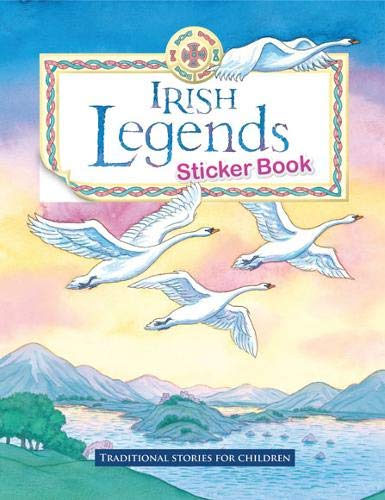 Irish Legends Sticker Book: Yvonne Carroll; Dee
