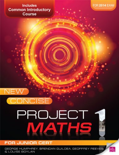 9780717150304: New Concise Project Maths 1: for Junior Cert for 2014 exam