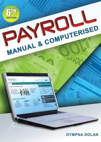 9780717150434: Payroll Manual & Computerised: 6th Edition