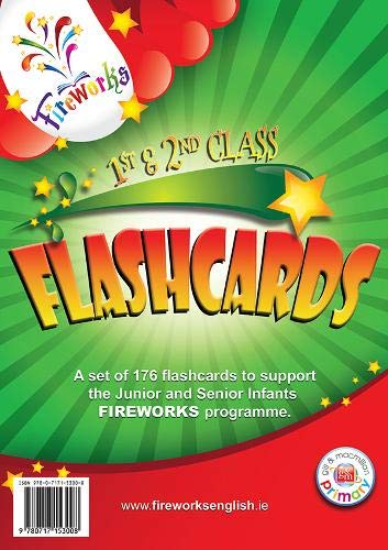 9780717153008: 1st and 2nd Class Flashcards (Fireworks English)