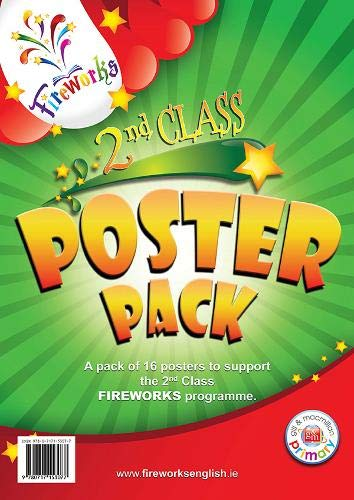9780717153077: 2nd Class Posters (Fireworks English)