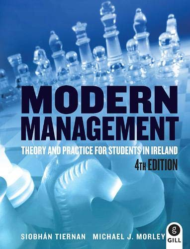 9780717156320: Modern Management: Theory and Practice for Students in Ireland