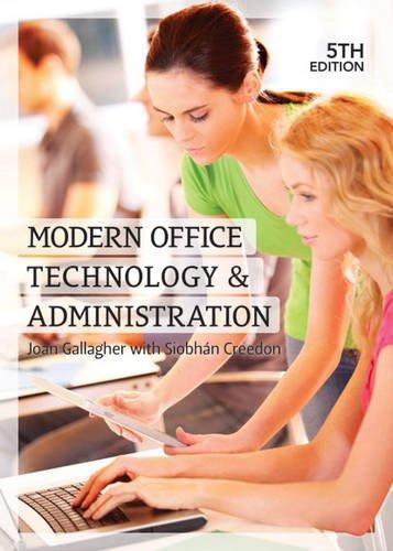 Modern Office Technology & Administration: Joan Gallagher, Joan