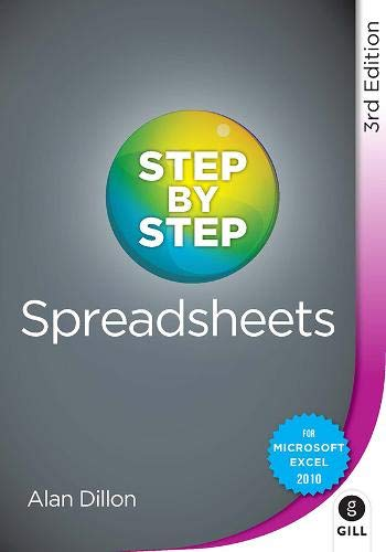 9780717160440: Step by Step Spreadsheets