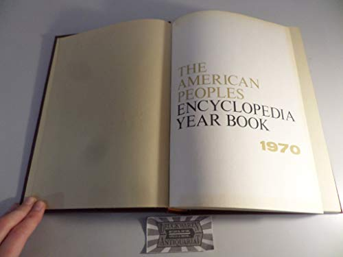 The American Peoples Encyclopedia Year Book (Events: The Editorial Staff