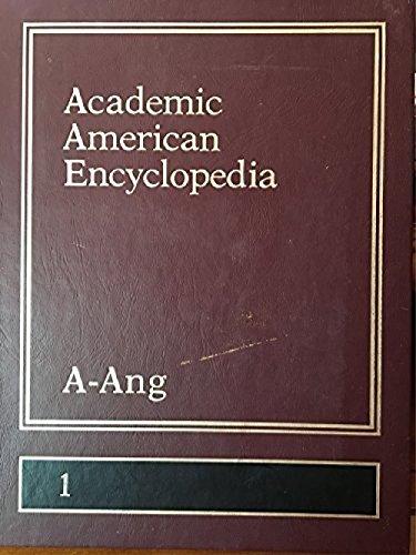 9780717220007: Academic American Encyclopedia (A - Ang, volume 1)