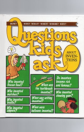 9780717225521: Questions Kids Ask About Inventions (Questions Kids Ask, 13)
