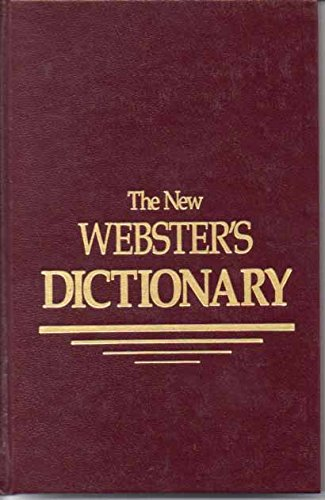 9780717245017: New Webster's Dictionary