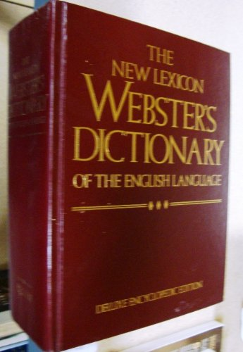 9780717245468: The New Lexicon Webster's Dictionary of the English Language
