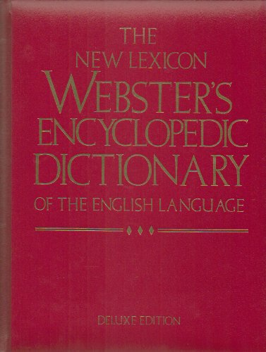 9780717245765: The New Lexicon Webster's Encyclopedic Dictionary of The English Language