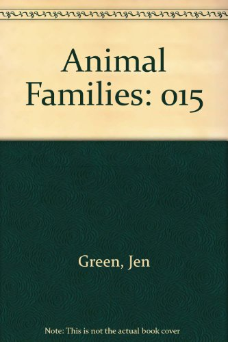 9780717255009: Wolves (Animal Families Vol. 15)