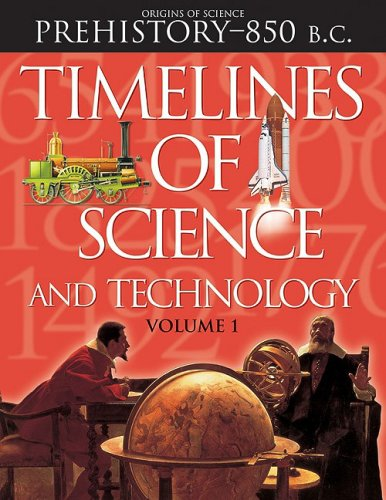 Timelines of Science and Technology Set: Grolier
