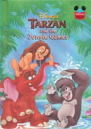 9780717264957: Disney's Tarzan and the Jungle Games (Disney's Wonderful World of Reading)