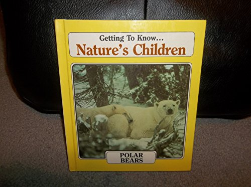 9780717266838: Getting to Know Nature's Children: Polar Bears / Skunks