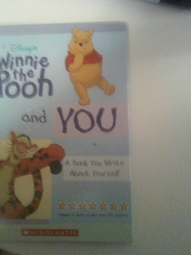 9780717267897: Disney's Winnie the Pooh And You a Book You Write About Yourself