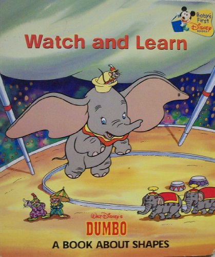 9780717268375: Watch and Learn (A Book about Shapes English/Espanol)