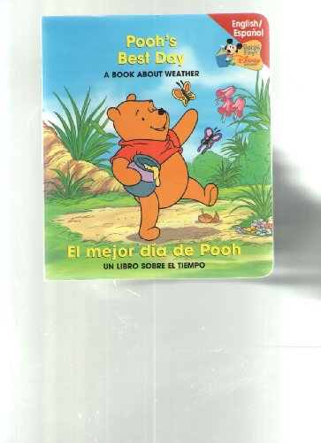 9780717268405: Pooh's Best Day: A Book About Weather (English/espanol)