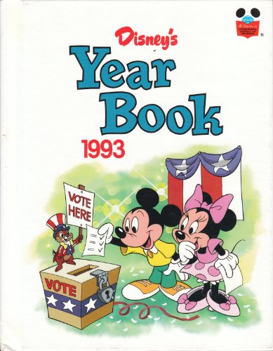 9780717283248: Disney's Year Book 1993