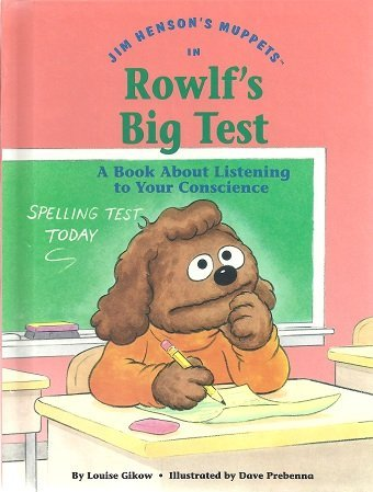 Jim Henson's Muppets in Rowlf's big test: Gikow, Louise