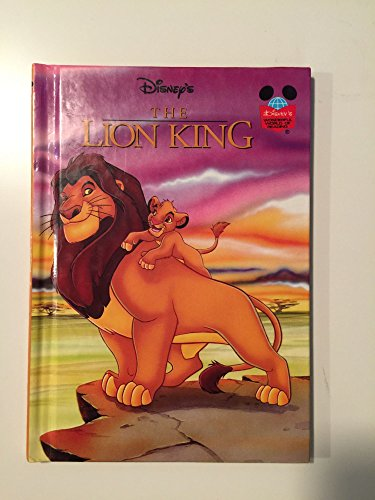 Walt Disney's THE LION KING.: Walt Disney. Grolier Book Club Edition.