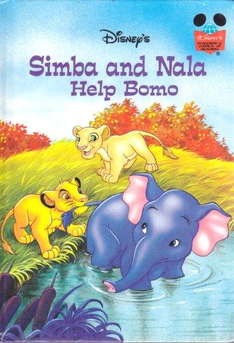 9780717284962: Disney's Simba and Nala Help Bomo (Disney's Wonderful World of Reading)