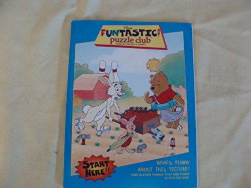 9780717288199: Disney FUNTASTIC Puzzle Club (Puzzles, Mazes&Games)