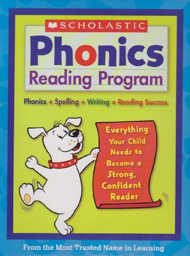 9780717299294: Scholastic Phonics Reading Program Introductory Set Including 2005 Hardcover Scholastic First Dictionary