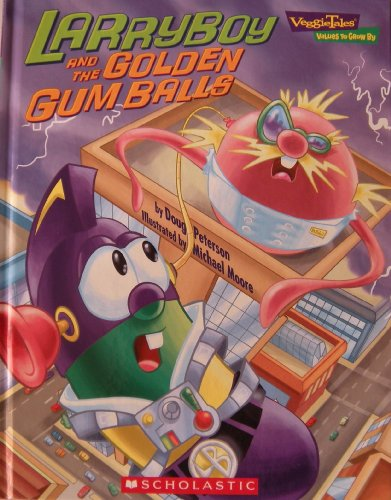 9780717299560: Larryboy and the Golden Gum Balls (Veggie Tales - Values to Grow By (VeggieTales))