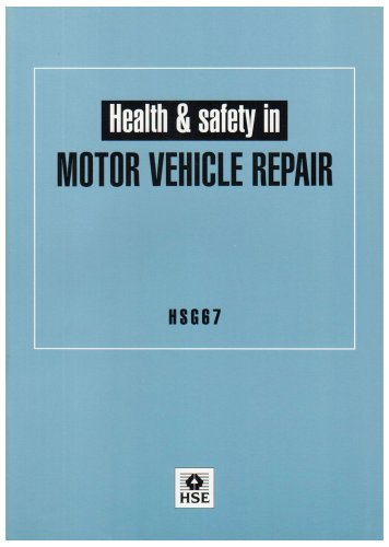 9780717604838: Health and Safety in Motor Vehicle Repair