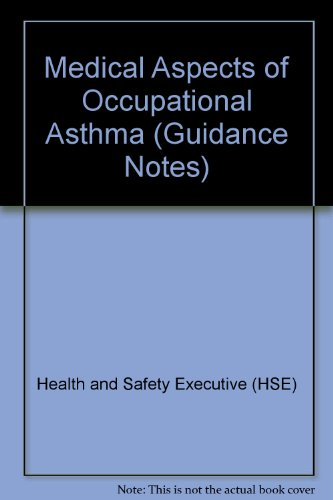 9780717615476: Medical Aspects of Occupational Asthma (Guidance Notes)