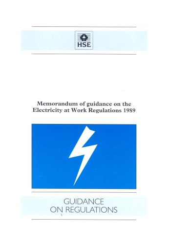 9780717616022: Electricity at Work Regulations: Memorandum and Guidance