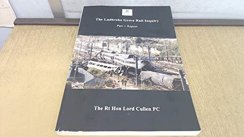 9780717620562: The Ladbroke Grove Rail Inquiry: Report Part 1
