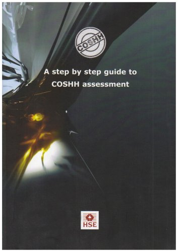 9780717627851: A Step by Step Guide to COSHH Assessment (Health and Safety Guidance)