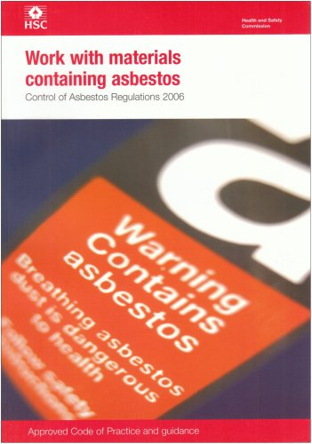 9780717662067: Work with Materials Containing Asbestos 2006: Control of Asbestos Regulations (Legal)