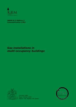 9780717700721: IGE/G/5: Gas in Flats and Other Multi-dwelling Buildings (Safety Recommendations)