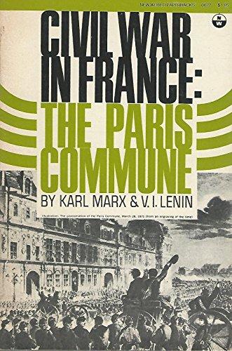 Civil War In France: Marx, Karl