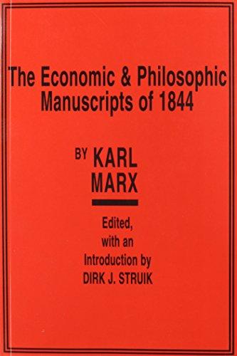 9780717800537: Economic & Philosophic Manuscripts of 1844