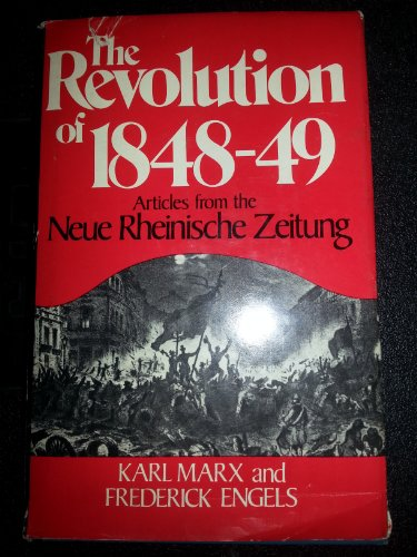 9780717803392: Revolution of Eighteen Forty-Eight: Articles from the Neue Rheinische Zeitung (English and German Edition)