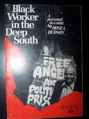 9780717803620: Black Worker In the Deep South