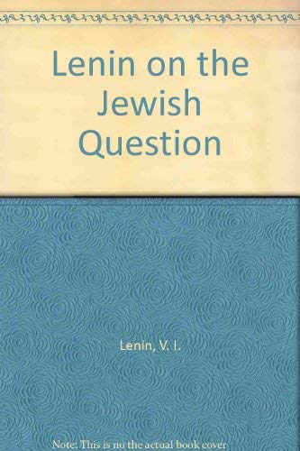 9780717803989: Lenin on the Jewish Question