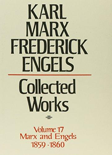 9780717805174: Karl Marx, Frederick Engels: Marx and Engels Collected Works 1859-60 (KARL MARX, FREDERICK ENGELS: COLLECTED WORKS)