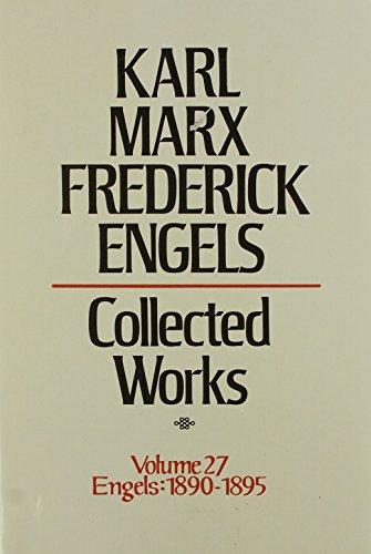9780717805273: 27: Karl Marx, Frederick Engels: Collected Works