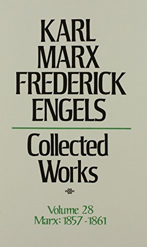 9780717805280: Karl Marx Frederick Engels: Collected Works 1857-61: 28