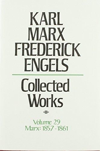 9780717805297: Karl Marx, Frederick Engels: Collected Works : Karl Marx, 1857-61: 29