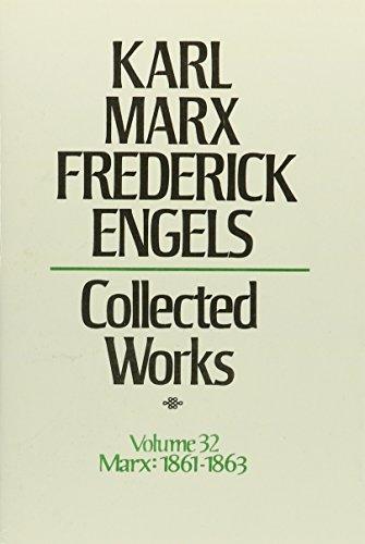 9780717805327: Karl Marx, Frederick Engels. Collected Works: Economic Works, 1861-1863: 32