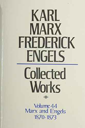 9780717805440: Karl Marx, Frederick Engels: Collected Works: 44
