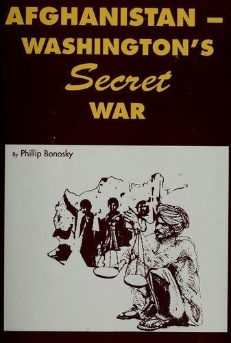 9780717807321: Afghanistan-Washington's Secret War